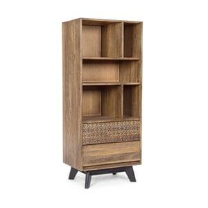 Bibliotecă din lemn de mango Bizzotto Emira