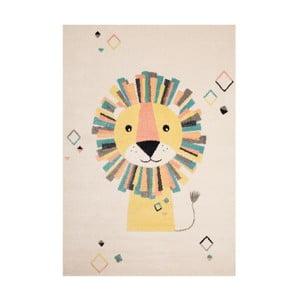 Dětský hnědý koberec Zala Living Lion,120x170cm