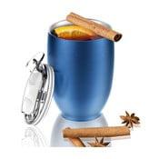 Cană termos Asobu Imperial Beverage, 300 ml, albastru