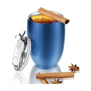 Modrý nerezový termohrnek Asobu Imperial Beverage, 300 ml