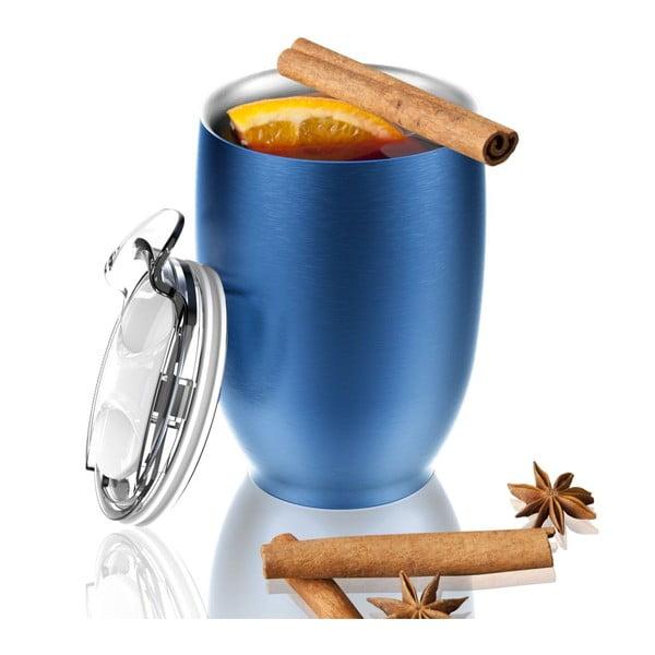 Modrý termohrnček z antikoro ocele Imperial Beverage, 300 ml
