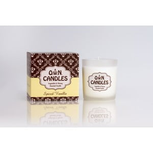 Vonná svíčka Spiced Vanilla  v dárkovém balení, 45 hodin hoření