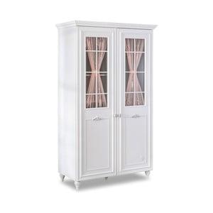 Bílá šatní skříň Romantica 2 Door Wardrobe With Window