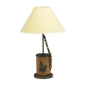 Námořnická stolní lampa Wooden Rope