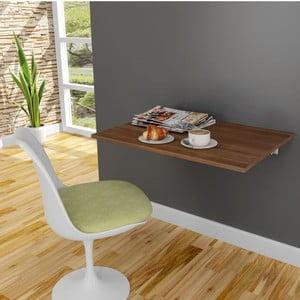 Stůl na stěnu Krizantem Walnut