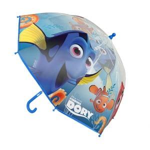 Dětský transparentní holový deštník Ambiance Birdcage Finding Dory, ⌀71cm