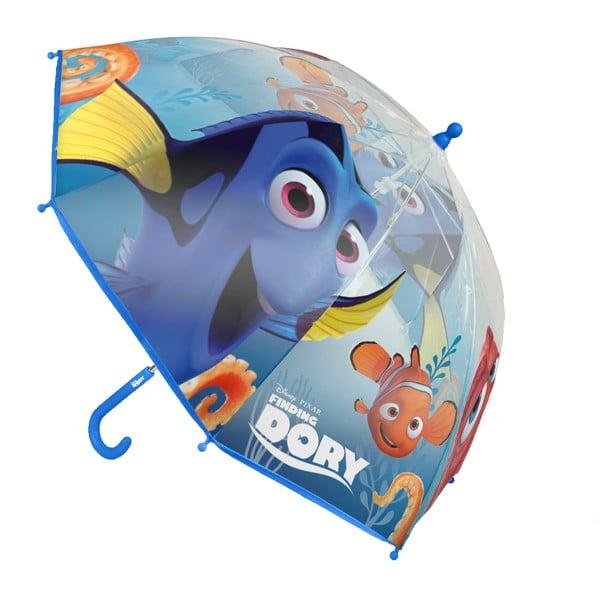 Detský transparentný tyčový dáždnik pre deti Ambiance Birdcage Finding Dory, ⌀71 cm