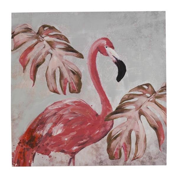 Pictură pe pânză Geese Modern Style Flamingo Uno Cubico, 100 x 100 cm