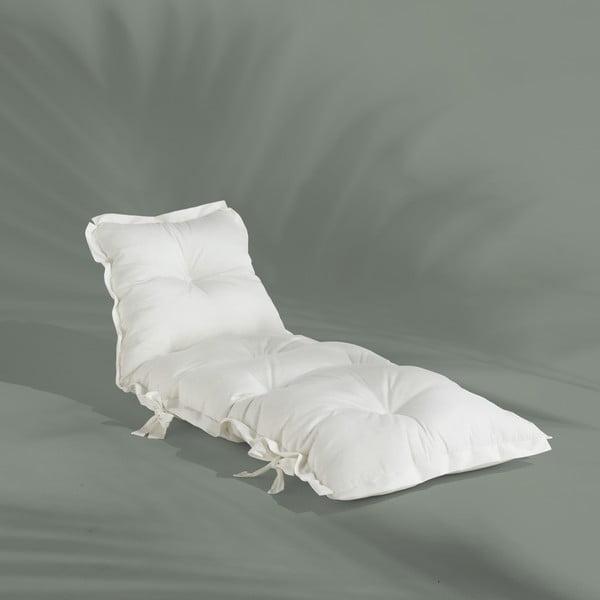 Futon extensibil potrivit pentru exterior Karup Design OUT™ Sit&Sleep White, alb