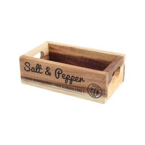 Suport din lemn pentru sare și piper T&G Woodware Glorious