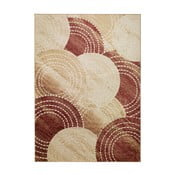 Červeno-béžový koberec Universal Belga, 70x110cm