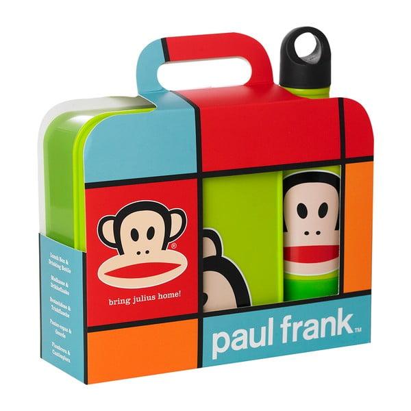 Svačinový set Paul Frank, limetkový
