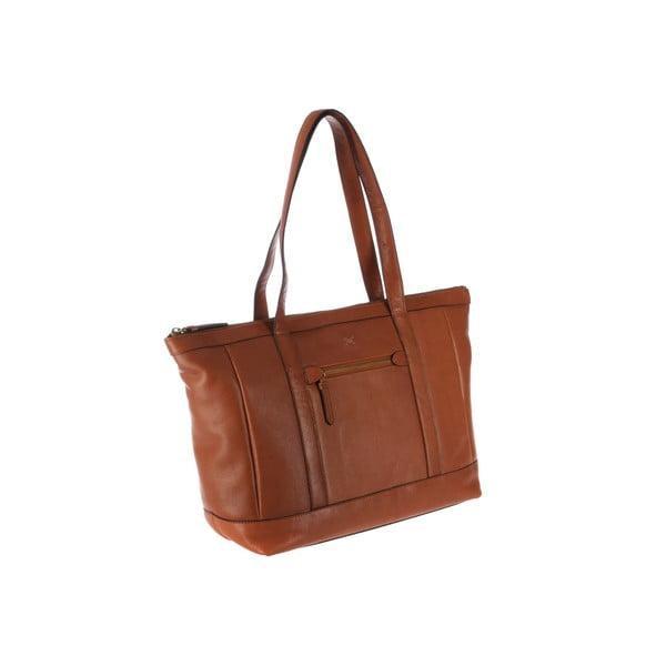 Dámská kožená kabelka Ruby Toffee