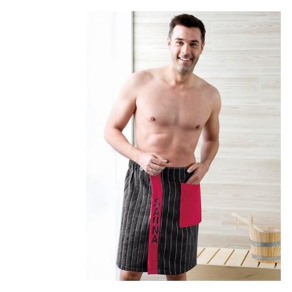 Pánský sarong Black, 50x136 cm