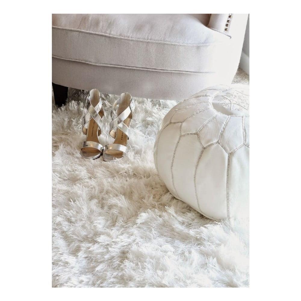 Vlněný koberec Royal Dream Pure Light, 130 x 150 cm