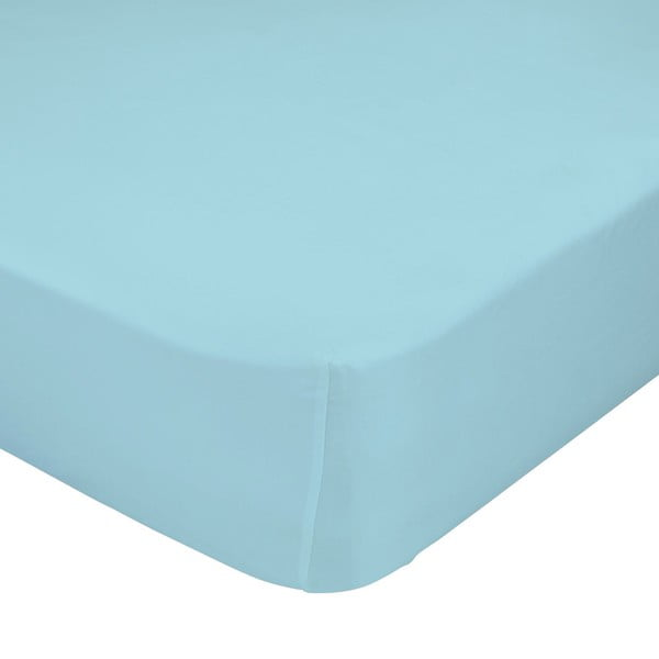 Modré elastické prostěradlo Happynois, 60x120 cm