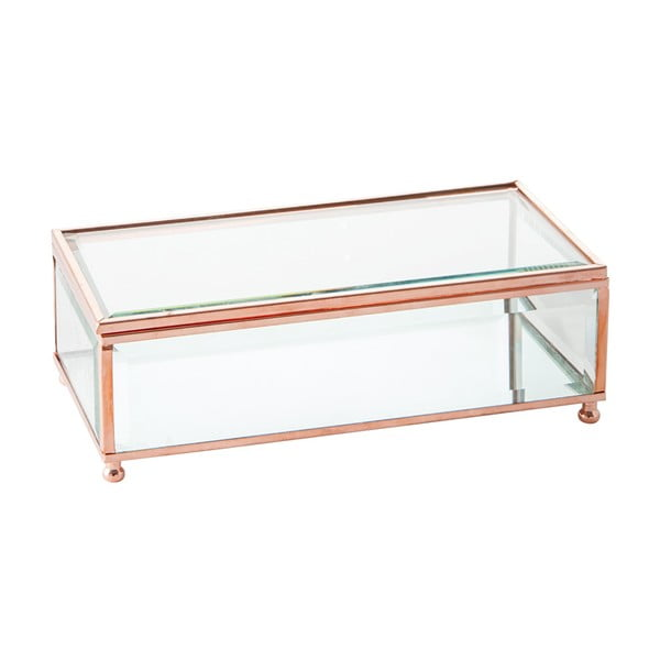 Šperkovnice Jewel Glass, 20x20 cm