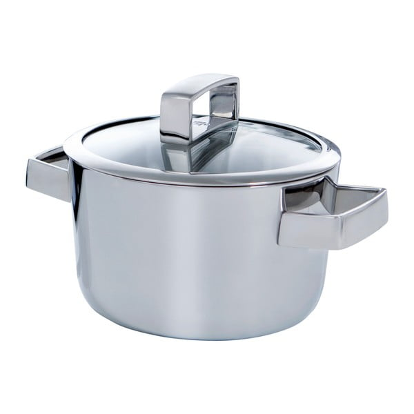Nerezový hrnec BK Cookware Conical Deluxe, 18 cm