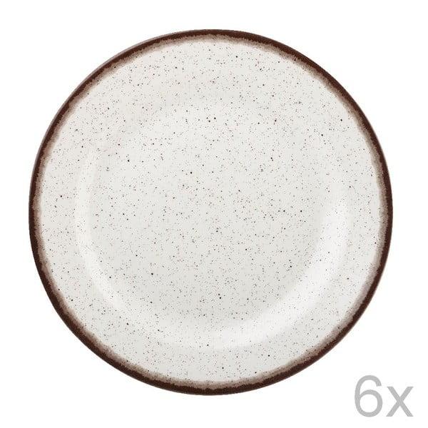 Sada 6 ks talířů Bakewell Mint, 20 cm