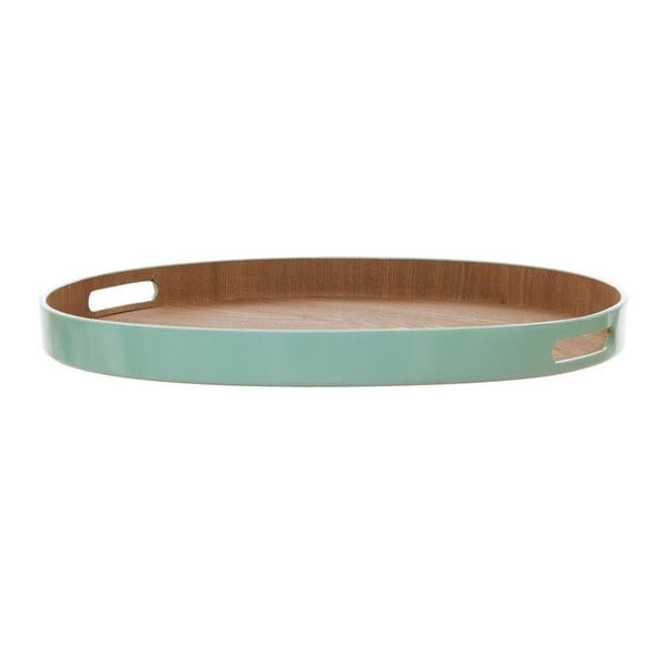 Podnos Round Mint Green