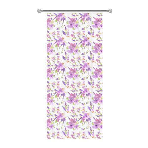 Zasłona Apolena Romantic Flowers, 140x270cm