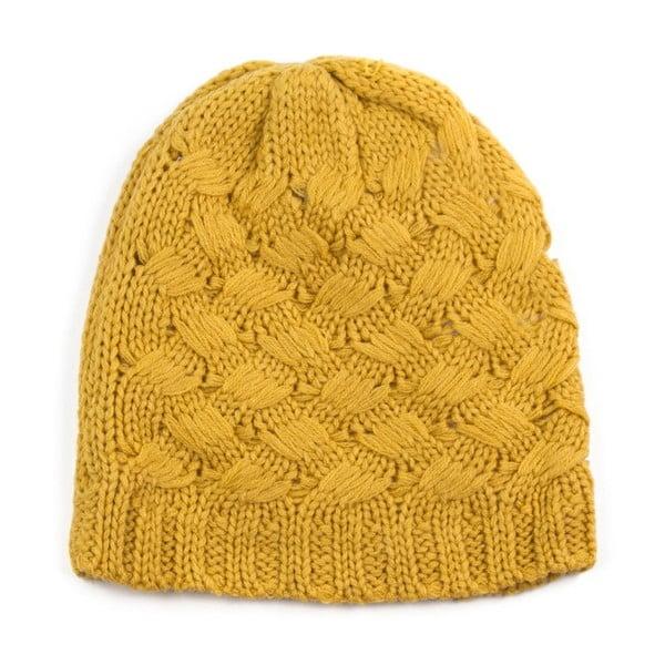Žlutá čepice Claire
