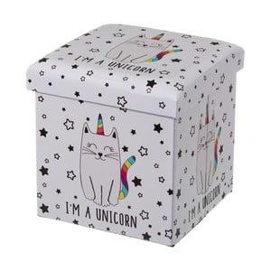 Dětský puf s úložným prostorem Unimasa Unicat