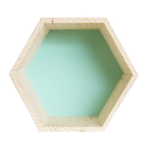 Dekorace Hexagono Nordic Azul