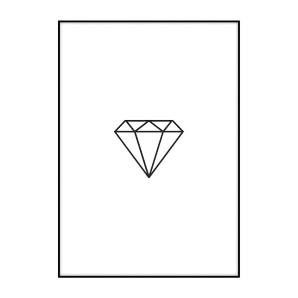 Plakát Imagioo Diamond, 40x30cm