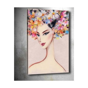 Obraz Tablo Center Pink Felicity, 40 x 60 cm