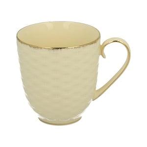 Bílý porcelánový hrnek Duo Gift Basket, 400 ml