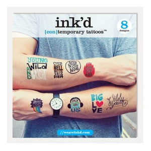Dočasné tetování U Studio Design Ross Bruggink