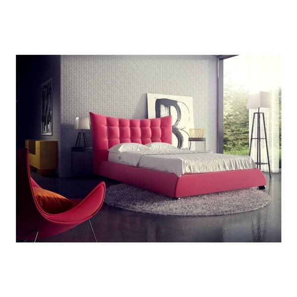 Postel Morgan Pink, 160x200 cm