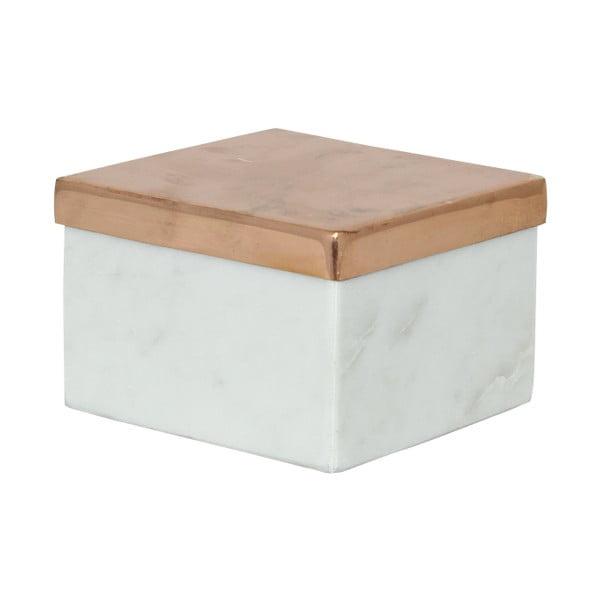 Mramorový box Tagne, 10x10 cm