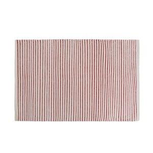 Koupelnová předložka Stripes Red