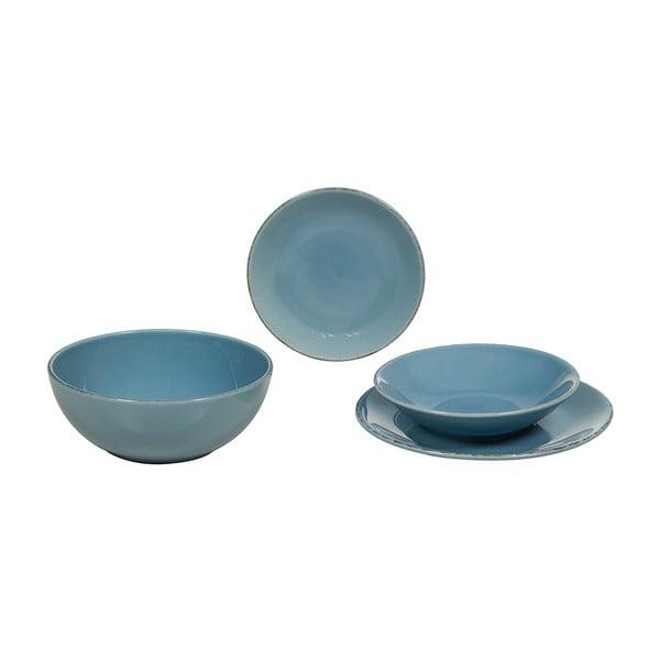 Set veselă din ceramică Santiago Pons, 19 piese, albastru