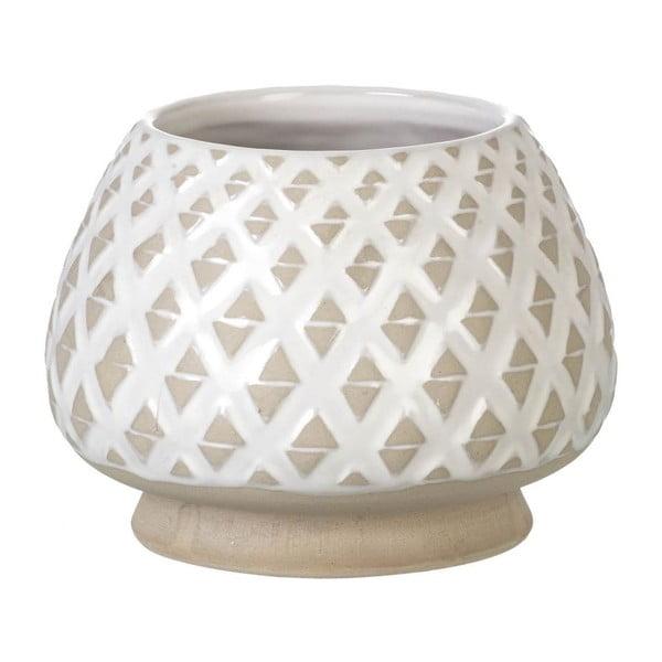 Váza Goblet Light Grey, 15x20 cm