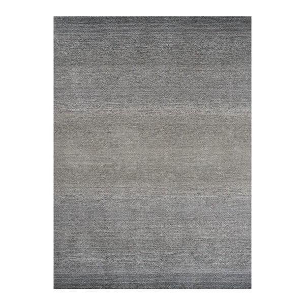 Vlněný koberec Graduation Grey, 170x240 cm
