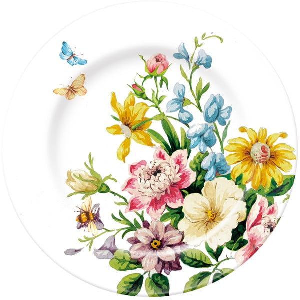 Dezertný porcelánový tanier English Garden, Ø19 cm