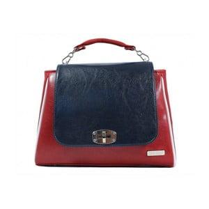 Červeno-modrá kabelka Dara bags Elizabeth No.14