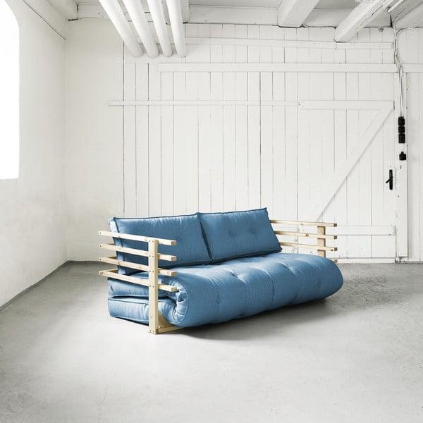 Canapea extensibilă Karup Funk Natural/Horizon Blue