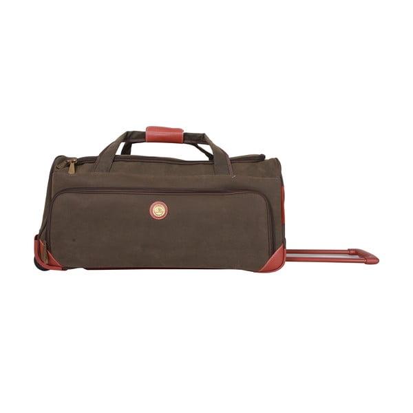 Cestovní taška na kolečkách Jean Louis Scherrer Khaki, 76.5 l