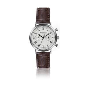Pánské hodinky s hnědým páskem z pravé kůže Walter Bach Bunny