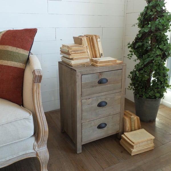 Odkládací stolek se zásuvkami Vintage Country