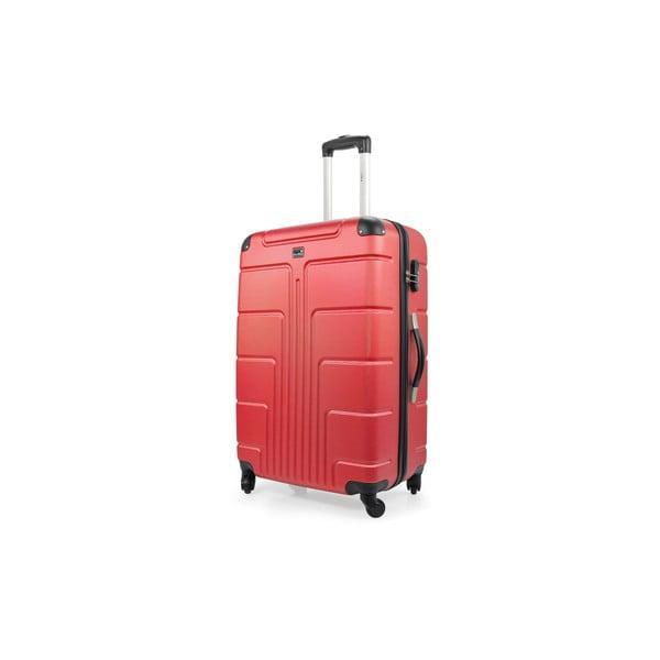 Sada 3 kufrů Riana, červená