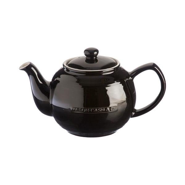 Ceainic din ceramică Mason Cash Original Collection, 1,2 l, negru