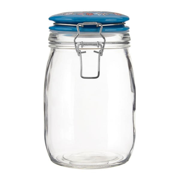 Borcan din sticlă Premier Housewares Pretty Things, 1l