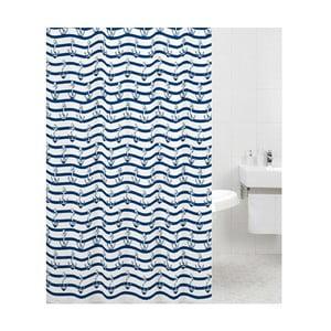Sprchový závěs Navy, 180x180 cm