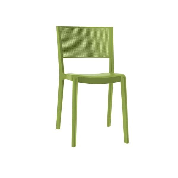Set 2 scaune de grădină Resol Spot, verde măsliniu