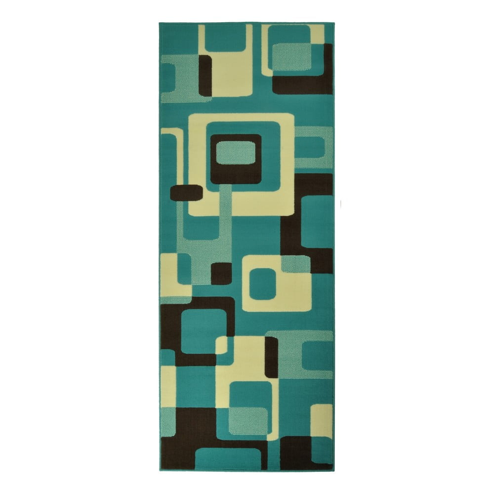 Modrý koberec Hanse Home Hamla Retro, 120 x 170 cm